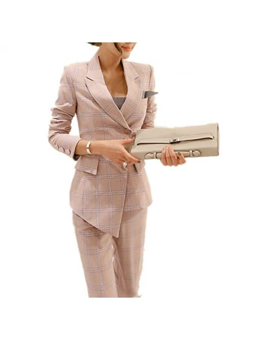 Women's Elegant Business Slim Fit Two Piece Office...