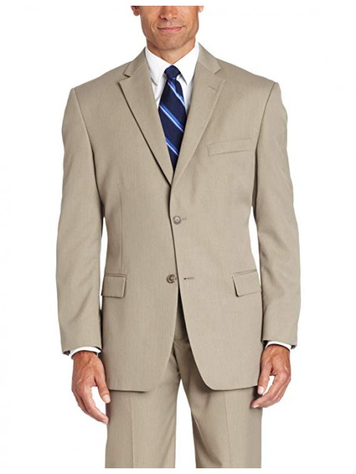 Men's Two-button Center-Vent Suit Jacket