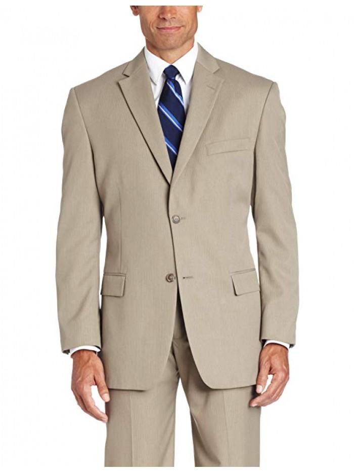 Men's Two-button Center-Vent Suit Jacket