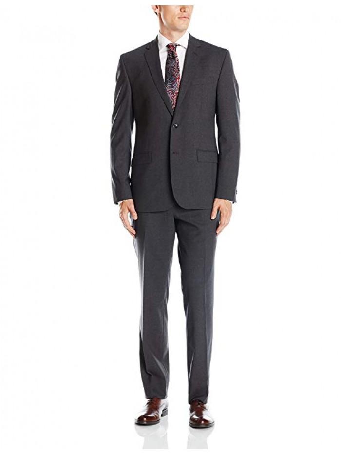Men's Slim Fit Solid Suit
