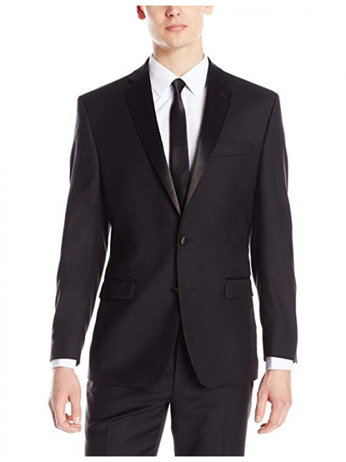 Men's Modern Fit 100% Wool Tuxedo Suit Separate (B...